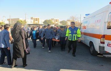 برگزاری بیستمین مانور زلزله در مدارس