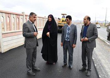 پیست دوچرخه سواری در ضلع شمالی بلوار آیت الله کاشانی شهرکرد احداث شد