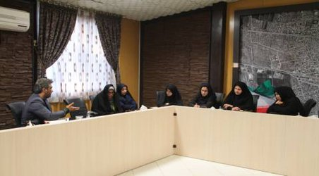 جلسه کمیته امور بانوان شهرستان در محل دفتر شهردار چناران برگزار شد