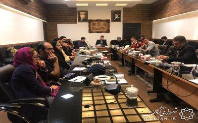 نشست نمایندگان «ان جی او»های ۱۱ استان با قائم مقام شهردار گرگان