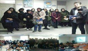 بازدید جمعی از دانشجویان دانشگاه تبریز از م ...