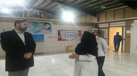 بازدید شبانه رئیس کمیسیون فرهنگی اجتماعی از مرکز نگهداری معتادان متجاهر شهرداری در دهکده سلامی شیراز