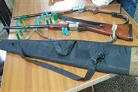 کشف و ضبط دو قبضه سلاح شکاری ولاشه دوقطعه کبک در اشکورات رودسر
