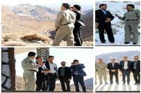 بازدید فرماندار تفت از پروژه های عمرانی محیط زیست