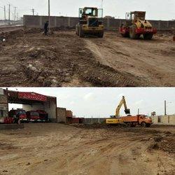 پروژه محوطه سازی و تکمیل ایستگاه سوم آتش نشانی شهرداری خرمشهر