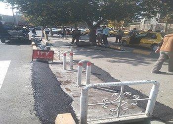 پیگیری درخواست نصب پل های فلزی و رمپ برای عابران پیاده