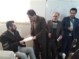 سینا کریمی کردستانی بعنوان مشاور شهردار سنندج در امورمعلولین منصوب شد