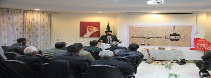 با حضور شاعران برجسته کرمانشاه؛ عصر شعر دفاع مقدس در فرهنگسرای گل نرگس برگزار شد