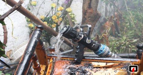 پوشش ۱۱ مورد حریق و حادثه توسط آتش نشانان شهر باران در ۲۴ ساعت گذشته /آتش نشانی رشت