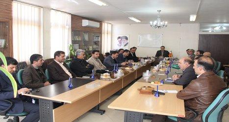 دیدار اعضای هیات مدیره سازمان با مسئول سازمان بسیج مهندسی عمران و معماری اصفهان به مناسبت گرامی داشت هفته بسیج