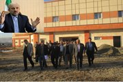 پروژه ساخت بیمارستان ۲۳۵ تختخوابی سقز تا پایان امسال تمام میشود