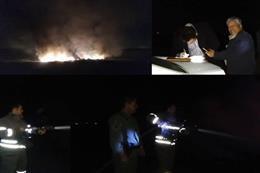 دستگیری عاملان آتش زدن ۵ تن کابل طی گشت و پایش ویژه ماموران اجرایی شهرستان بهارستان