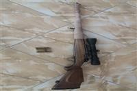 کشف و ضبط یک قبضه اسلحه ژ-س خور غیر مجاز در پارک ملی بمو در فارس