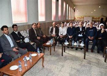 حضور شهردار شهرکرد در جشنواره واژه آموزی آب