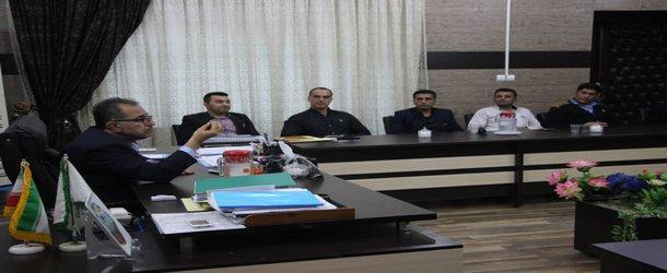 مراسم تودیع و معارفه معاونت خدمات شهری و مسئول فضای سبز و پارکهای شهرداری مسجدسلیمان برگزار شد