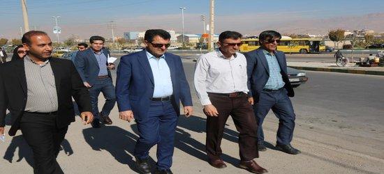 بازدید رییس کمیسیون عمران از محلههای منطقه ۲ شیراز