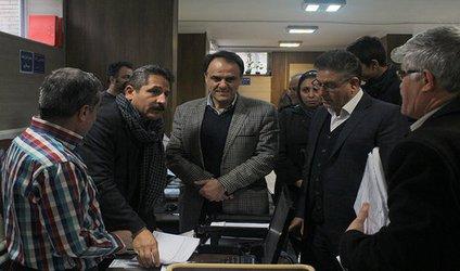 بازدید سرزده شهردار تبریز از منطقه یک/ شهین باهر: خدمت صادقانه به مردم اولویت شهرداری است