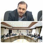 دکتر مرتضی پیری عضو شورای اسلامی شهر ارومیه در دیدار با استاندار آذربایجانغربی: