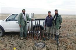 پیشگیری از شکار و صید پرندگان، توسط یگان حفاظت محیط زیست استان در تالاب بین المللی آلاگل