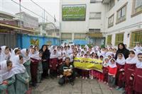 برگزاری کار گاه آموزشی آشنایی با حیات وحش در دبستان علم دانش لاهیجان