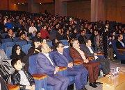 مراسم روز دانشجو در تالار شیخ بهایی شاهین شهر برگزار گردید