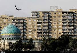 گذرِ نمای ۱۶۰۰ ساختمان مشهد از صافی کمیته نما