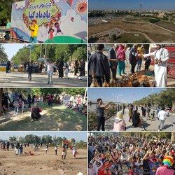 برگزاری جشنواره بزرگ بادبادک ها توسط شهرداری خرمشهر با استقبال بیش از ۵ هزار نفر از شهروندان