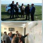 بازدید مدیرکل و معاونین بنیاد مسکن استان گلستان از ۲ پروژه مهم در شهرستان مراوه تپه