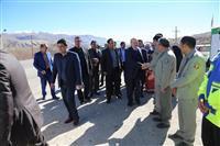 معاون رئیس جمهور و رئیس سازمان حفاظت محیط زیست وارد یاسوج شد