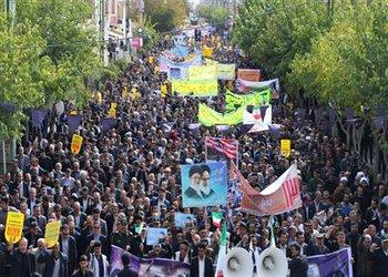 از تلاش های شهرداری شهرکرد در راهپیمایی ۱۳ آبان قدردانی شد