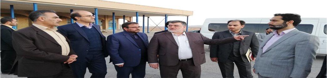 بازدید استاندار خراسان جنوبی از پروژه های عمران شهری بیرجند