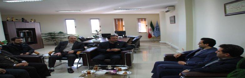 دیدار مدیرکل و معاونان بنیاد مسکن انقلاب اسلامی استان با ریاست سازمان