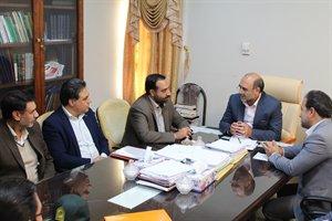 برگزاری جلسه هم اندیشی مدیرکل راه وشهرسازی استان با رئیس کل دادگستری استان ایلام