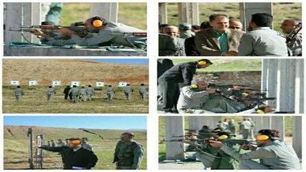 برگزاری دوره آموزشی تئوری و عملی اسلحه شناسی مامورین یگان حفاظت محیط زیست استان ایلام
