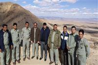 بازدید فرمانده یگان حفاظت سازمان حفاظت محیط زیست کشور از منطقه حفاظت شده درمیان-سربیشه