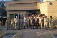 نشست فرمانده یگان حفاظت محیط زیست کشور با محیط بانان خراسان جنوبی