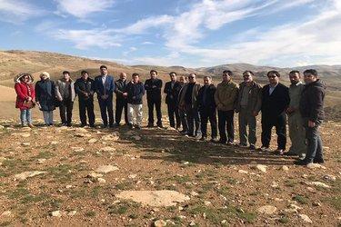 بازدید معاون سازمان مدیریت و برنامه ریزی استان کردستان از منطقه حفاظت شده  ۹۷/۹/۲۱