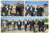 بازدید مدیرکل حفاظت محیط زیست استان و فرماندار کرمان از تعدادی واحدصنعتی دامداری درمحدوده بخش ماهان