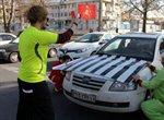 نمایش خیابانی ارتقاء فرهنگ ترافیکی در سطح شهر ارومیه اجرا شد/ تداوم برنامه در هفته ها و ماههای آینده