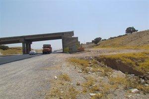 ادامه عملیات اجرایی تقاطع غیر هم سطح محور ایلام- دره شهر(تقاطع – ملکشاهی) در چند روز آینده