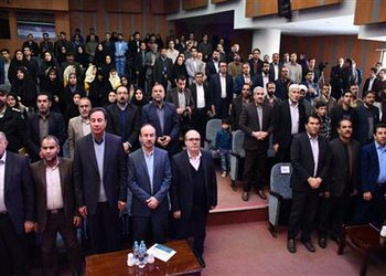 حضور شهردار شهرکرد در آیین افتتاحیه جشنواره و نمایشگاه هفته پژوهش